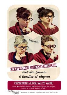 Toutes les bibliothécaires sont des femmes à lunettes et chignon